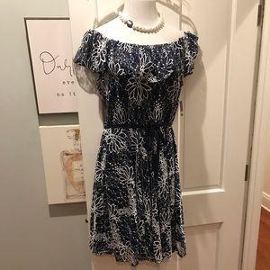 Off-the-Shoulder Lace Spring/Summer Dress